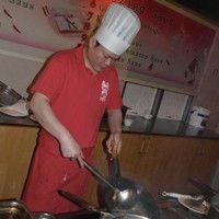 Welkom in ons show cooking restaurant...