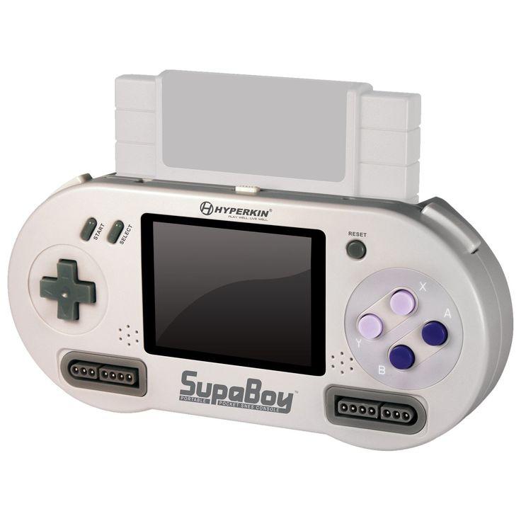 Portable Pocket Super Nintendo