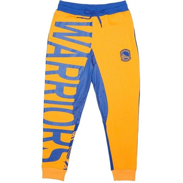 Men's Unk Golden State Warriors Speckled Fleece Jogger Pants ($52) ❤ liked on Polyvore featuring men's fashion, men's clothing, men's activewear, men's activewear pants, blue other, mens activewear and mens activewear pants