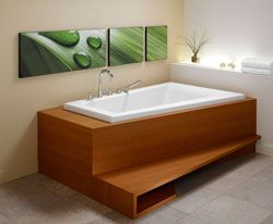 "Neptune Bora Activ-air Corner Tub 59-3/4"" x 41-3/4"" x 22-1/8""- BO60A  #BathroomRemodel #BathtubIdeas #DropInBathtub"