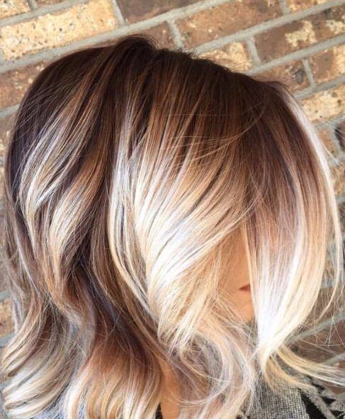20 Einfache Balayage Kurze Haar Ideen Haarfarben Haar Ideen