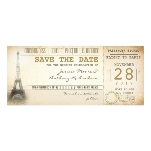 26 best Boarding Pass Invite Template images on Pinterest - best of invitation card wedding format