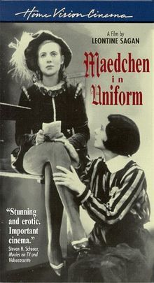 Mädchen in Uniform (Girls in Uniform) is a 1931 German feature-length film based on the play Gestern und heute (Yesterday and Today) by Christa Winsloe and directed by Leontine Sagan with artistic direction from Carl Froelich, who also funded the film. Winsloe also wrote the screenplay and was on the set during filming. The film remains an international cult classic.