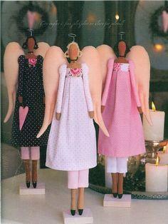 TILDA on Pinterest   Dolls, Angel and Decoupage