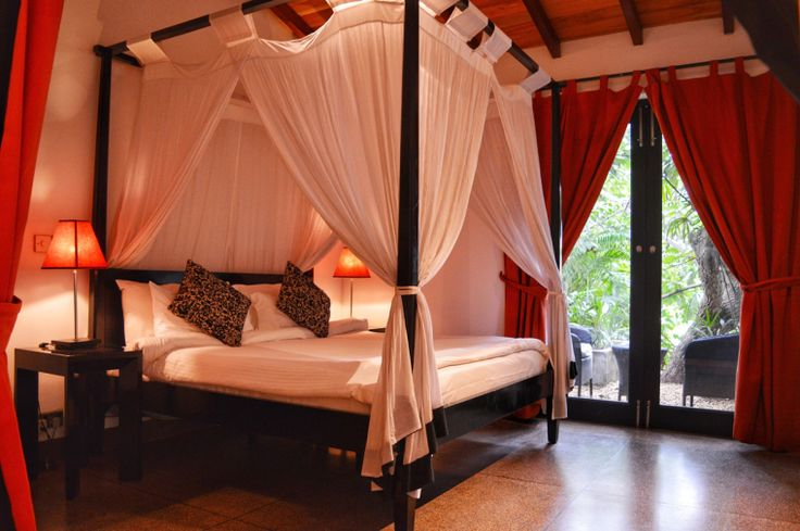 Swooning over the best bed ever. The Wallawwa by Teardrop Hotels is a paradise. Check out more hotels and places to stay in Sri Lanka on NatnZin.
