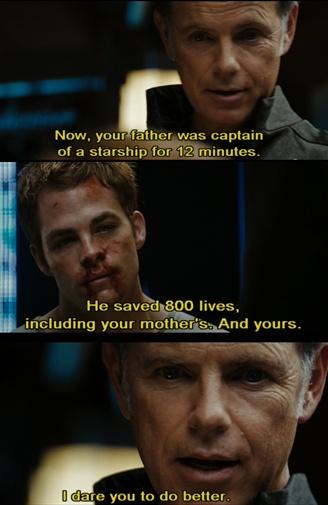 I dare you. Captain Pike. ^.^