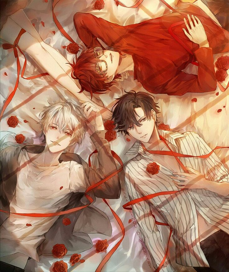 Mystic Messenger | I would absolutely love to see Saeran in the deep route with Jumin and Seayoung^^