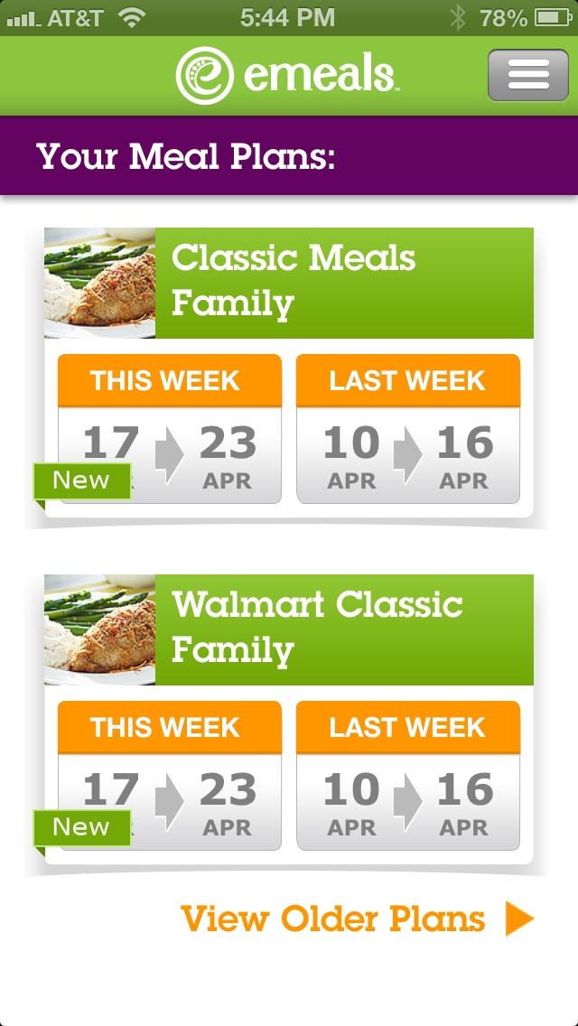 Emeals New Meal-Planning App!!!  Super cool!!