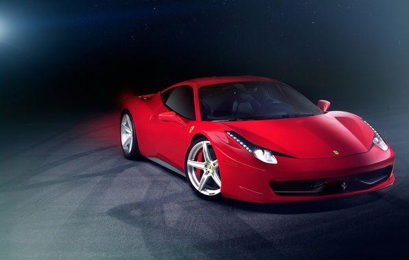 Обои supercar, феррари, ferrari 458 italia картинки на рабочий ...