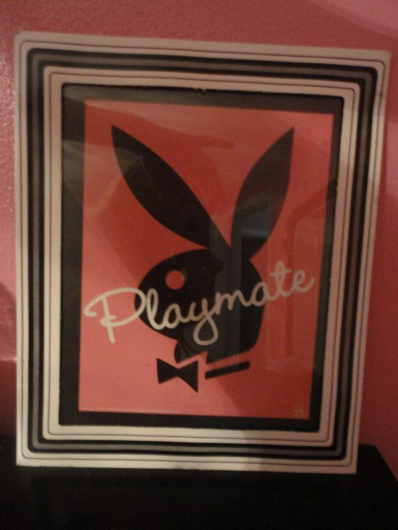 Playboy Bunny Playmate Pink & Black by ITSASMALLWORLDINDEED, $30.00