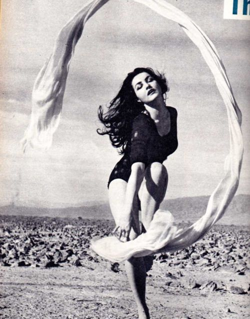 Julie Newmar + 1950's + Black and White