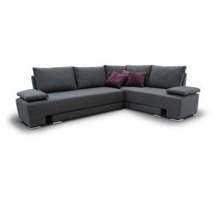 Sala esquiina. Sofa cama