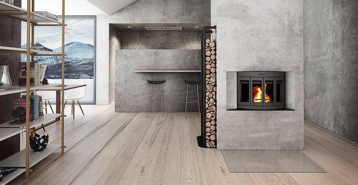 Jøtul I 400 Harmony with foldable doors