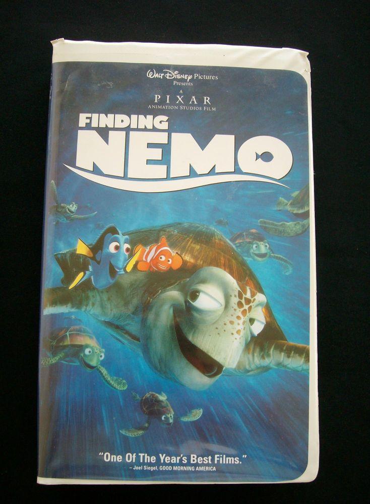 Finding Nemo (VHS, 2003) | Disney, Finding nemo and Disney ...