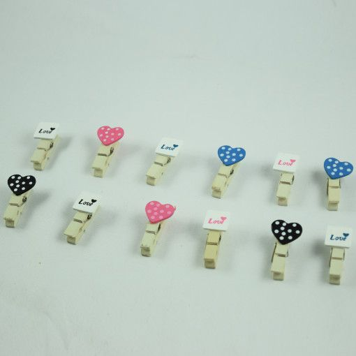Polka Dots Love Paper Clips #DecoClips