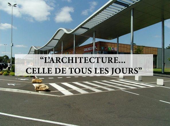 A Saint-Pierre-du-Mont, l'architecture des centres commerciaux ►►► ECOUTER la chronique de David Abittan ici : http://www.franceinter.fr/emission-lete-archi-a-saint-pierre-du-mont-larchitecture-des-centres-commerciaux - Photo © DR David Abittan