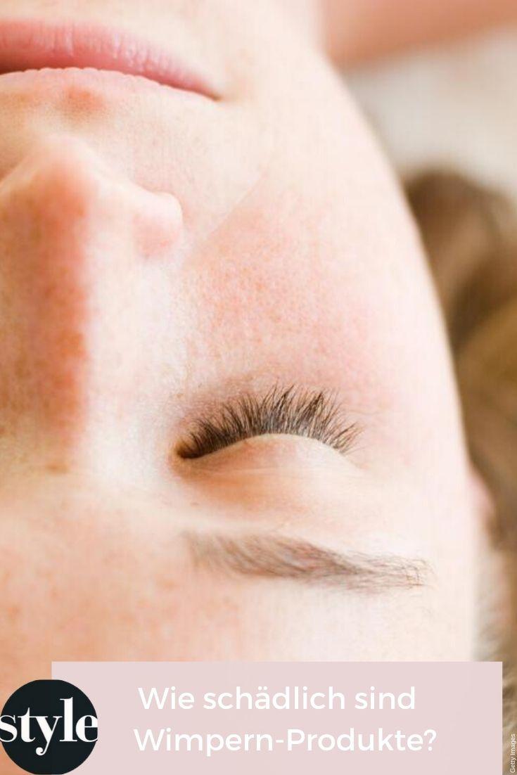 Wie Schadlich Sind Wimpernprodukte Wirklich Wimpern Mascara Wimpernwelle