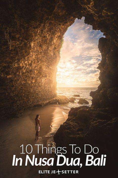 10 things to do in Nusa Dua, Bali. Things to do in Uluwatu, bukit peninsula. Watersports in Bali. Things to do in Bali. Things to do in Indonesia. Secret beaches, hidden beaches in bali. Best beaches in Bali. beautiful photos of Bali. What to do in Nusa Dua. via @elitejetsetters