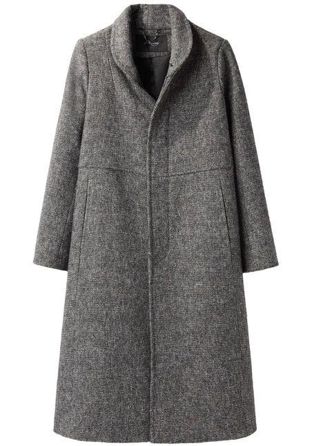 Rachel Comey / Ardmore Coat, tweed, wool, gray #minimalist #fashion