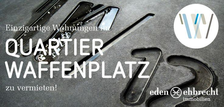 Quartier Waffenplatz. Anders // Wohnen // Handeln // Arbeiten. Eden-Ehbrecht Immobilien vermietet exklusiv die neuen und einzigartigen Wohnungen im #QuartierWaffenplatz. #Immobilienmakler #Makler #Oldenburg.