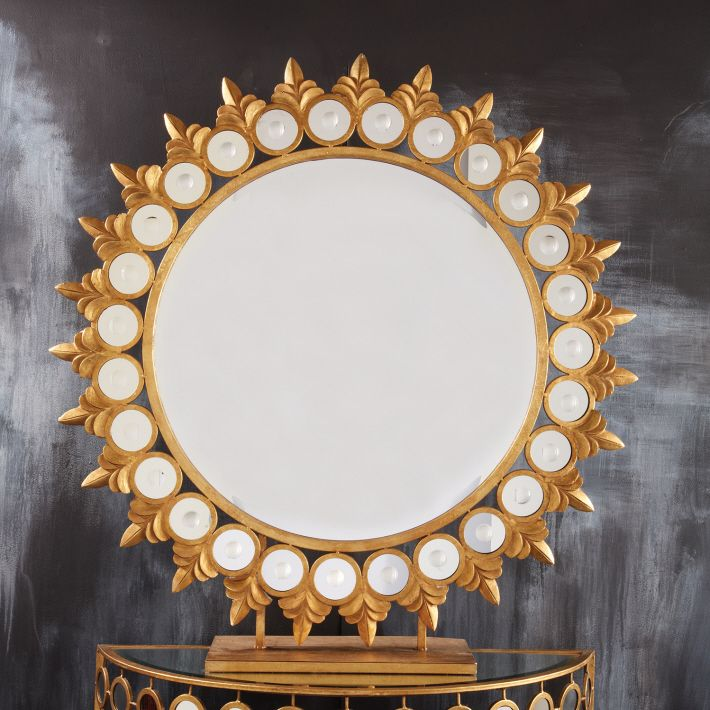 1000 Ideas About Circle Mirrors On Pinterest: Mirrors, Sunburst Mirror And Round Wall Mirror