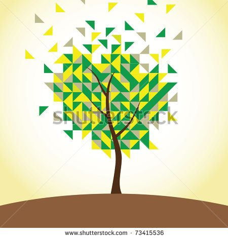 100 Best Images About Geometric Tree On Pinterest