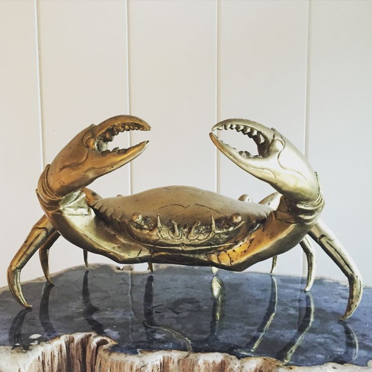 Giant Brass Crab