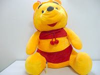 Giant Winnie the pooh bee costume