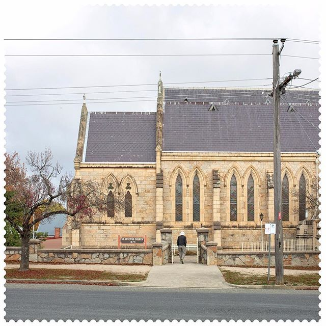Where better to check out churches than Church St? In Beechworth 3747. #AustraliaConnected #churchesofinstagram #exploreVictoria #churches
