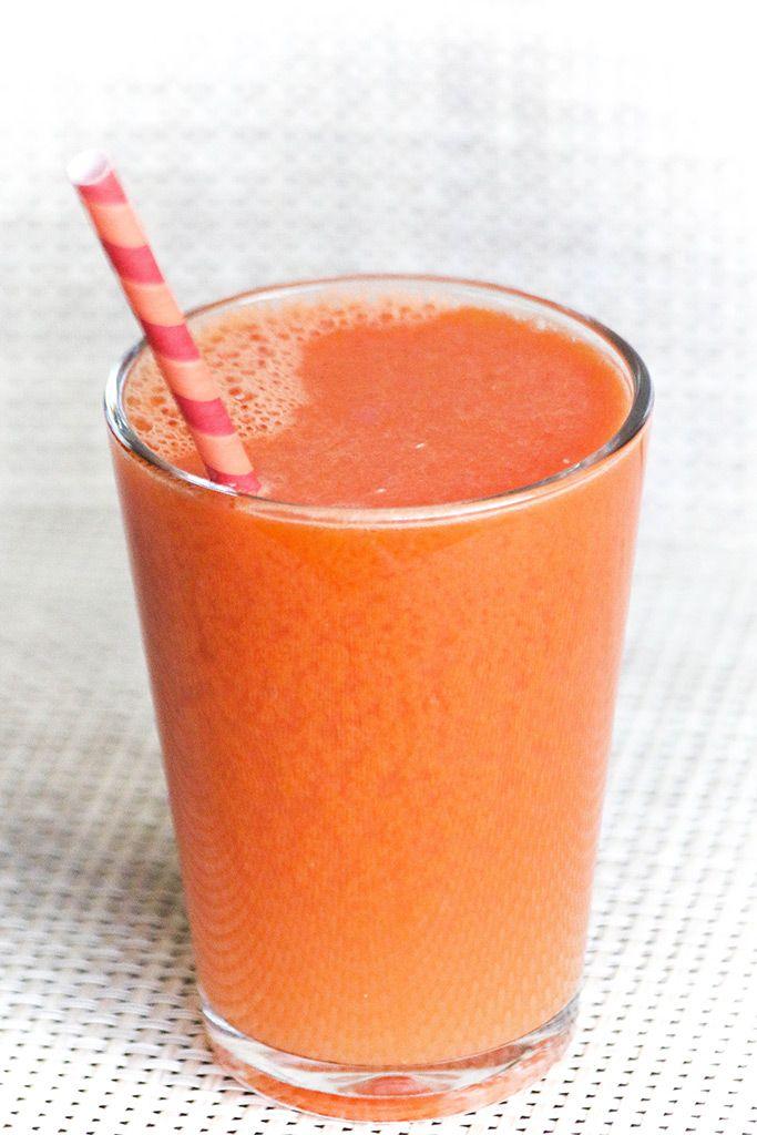 Энергетический микс с морковью и сельдереем