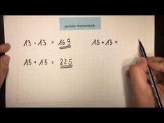 Kopfrechnen - superschnell - genialer Rechentrick   Lehrerschmidt - YouTube