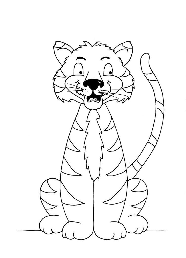 24 best Tiger themed crafts for kids images on Pinterest
