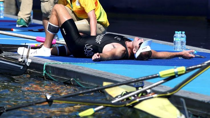 Single Sculls Rowing Rio 2016 New Zealand's Mahé Drysdale Takes Gold
