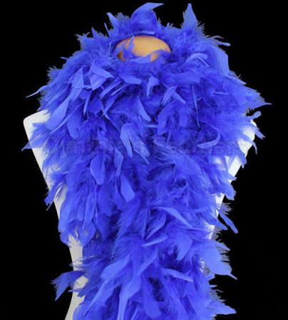 royal blue feather boa - Google Search
