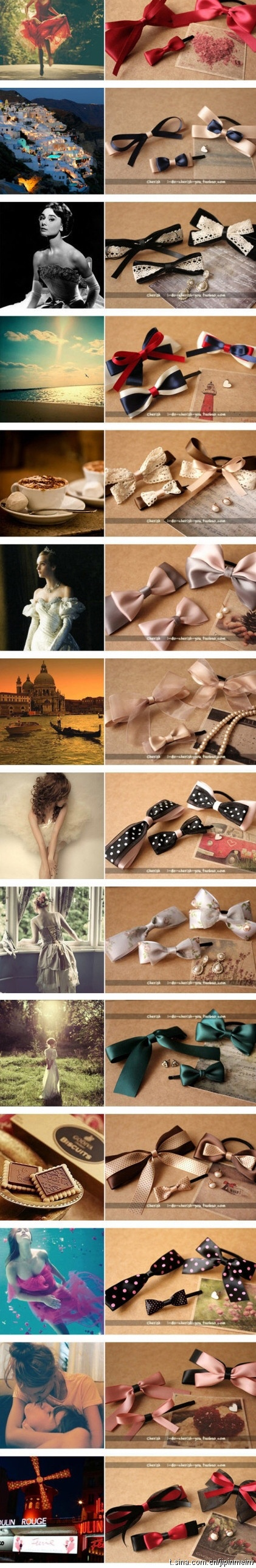 beautiful bows, for your inspiration