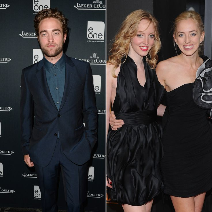 Robert, Lizzy, and Victoria Pattinson: Robert Pattinson has two older sisters, Victoria and Lizzy. Lizzy is an aspiring singer who recently auditioned on The X Factor UK.