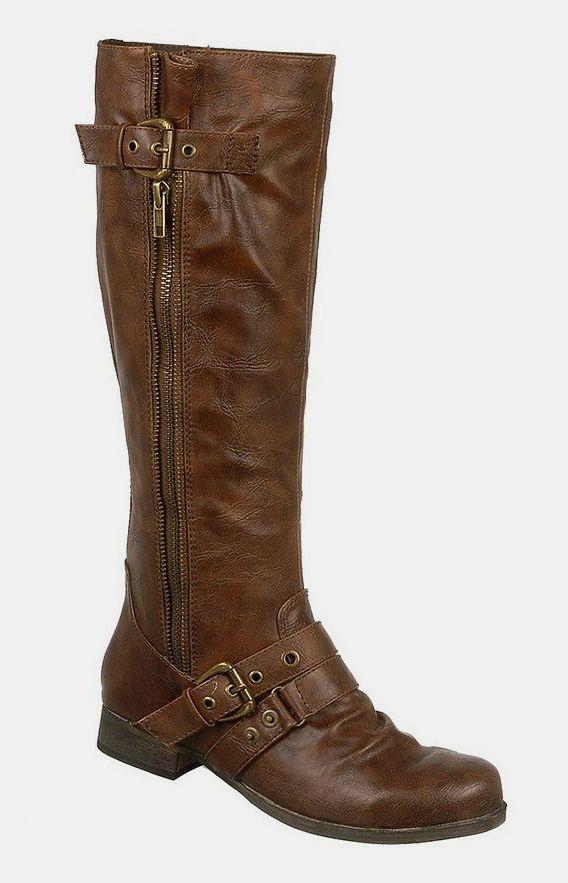 Cognac Hart Boot