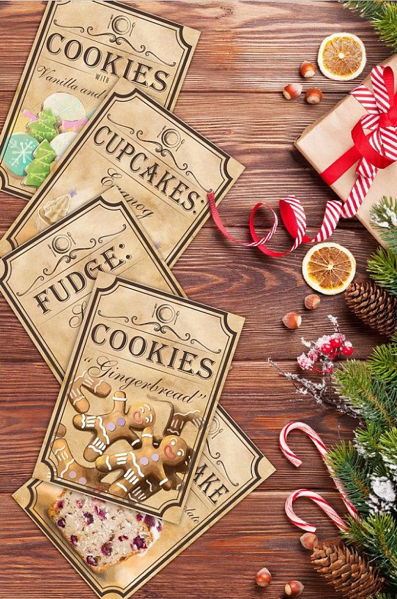 Recipes for christmas make your own by BlueberryDreamDesign