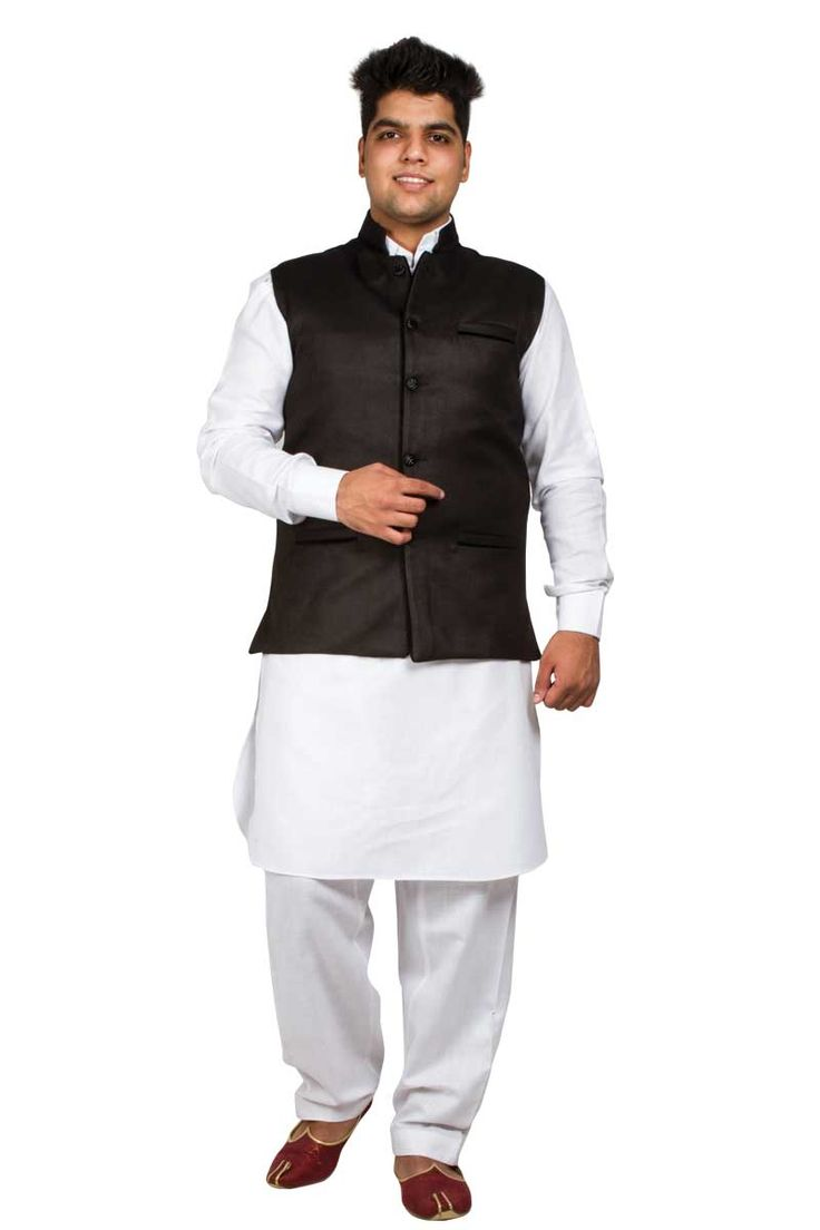 Andaaz New ethnic mens Black Cotton and Jute Waistcoat with price RM99.00. It is prefect to wear on every Kurta Pajama.   http://www.andaazfashion.com.my/men/kurta-pajama/black-cotton-jute-waistcoat-5095.html