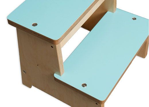 Modern Step Stool, Kids Step Stool, Wooden Stool FREE SHIPPING on Etsy, $95.00