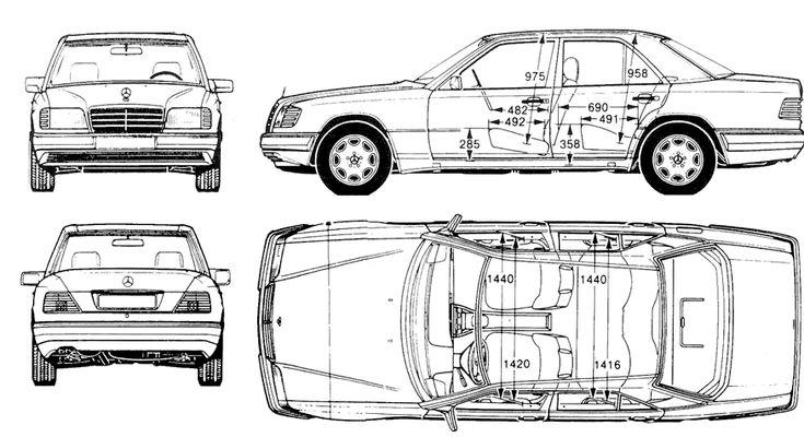 Mercedes W124 E-Class