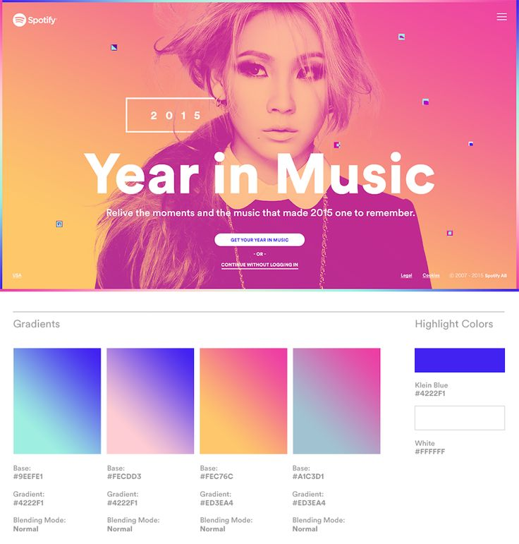 How Stinkdigital created Spotify's Year in Music | Creative Review