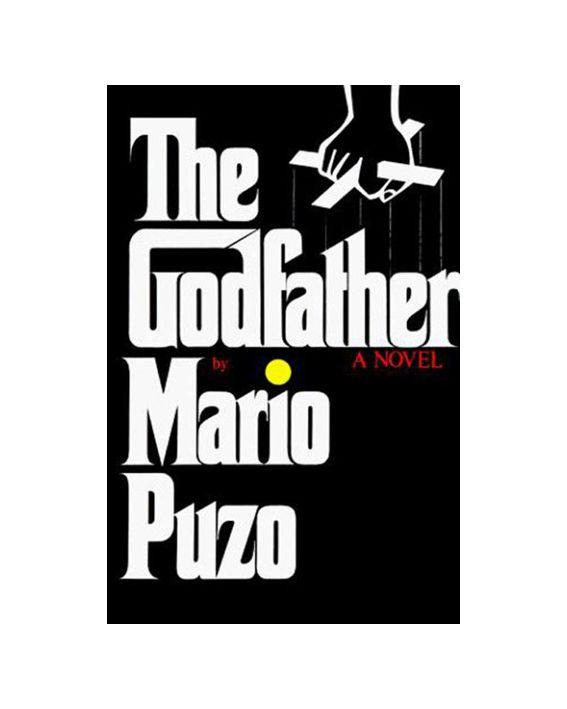 Neil Fujita, book jacket for Mario Puzo's The Godfather, 1969.