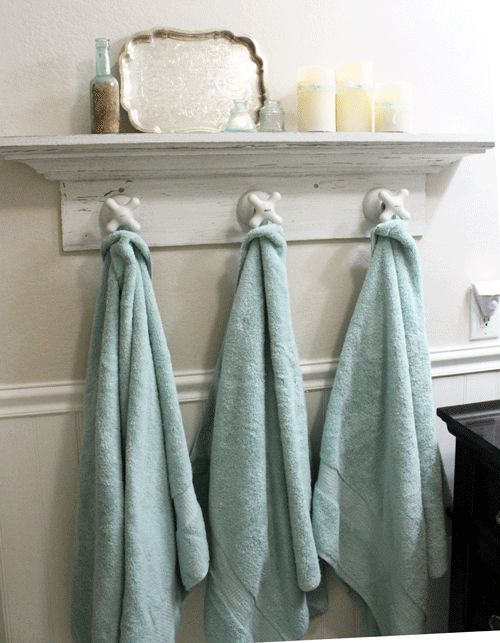 Vintage Coat Rack Display