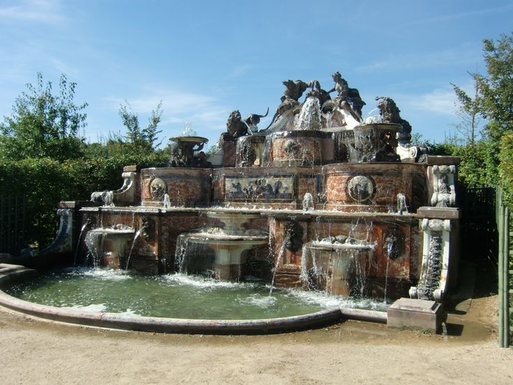 Versailles, Le Buffet d'Eau in the gardens of Grand Trianon.
