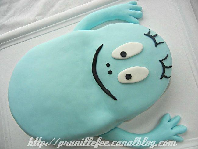 Gateau Barbapapa bleu - Barbibul - barbapapa cake