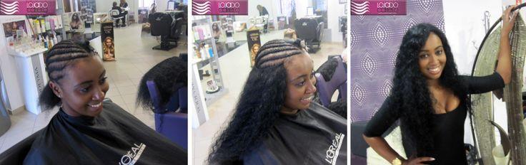 E que tal meninas? A maneira tradicional de aplicar em #África - #Banda de #cabelo costurada! Ficou #linda não ficou?    Cabelo #Indiano Natural Cacho A em #tissagem - 60-65 cms - 2 bandas (200 gramas)   Só podia ser da Loja do Cabelo - o melhor cabelo, os melhores resultados...   #hair #beauty #afro #weft #weave #extensões #extensõesdecabelo #lojadocabelo #brasil #longos