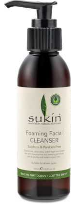 Confessions of a Beauty Addict: Review: Sukin Foaming Facial Cleanser // GREAT sensitive skin makeup remover!