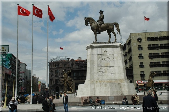 Turkey Ankara: Ulus Maydani