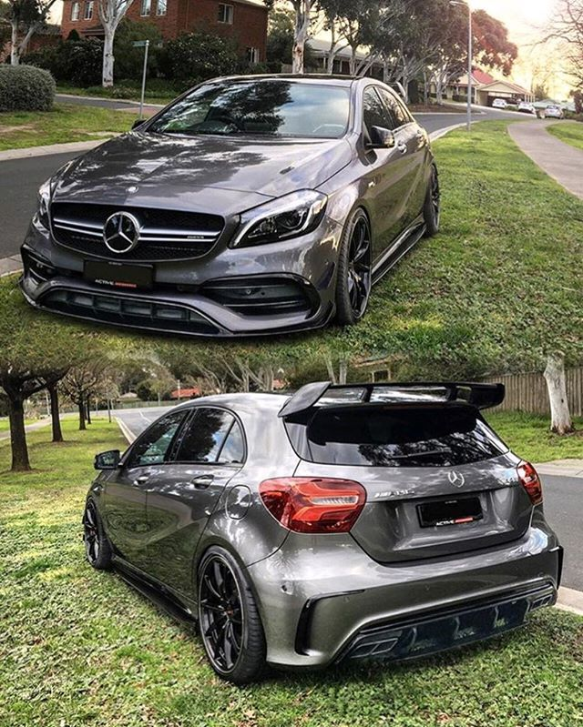Dope A45 AMG _______________________________________________________ Owner: @joshtrippingwords _______________________________________________________ #Benz #Mbenz #Amg #s63 #s65 #s550 #coupe #s63coupe #v8 #v12 #biturbo #luxury #blacklist #modecarbon #speed #sls #germancars #engineering #lol #bmw #jdm #american #carswithoutlimits #carporn #cargram #benzo _______________________________________________________ Follow for best Mercedes AMG